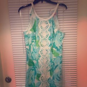 Lilly Pulitzer pearl shift dress